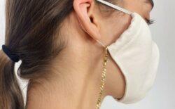Novi hit modni dodaci – lančići za maske