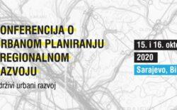 UKI BiH – Druga konferencija o urbanom planiranju i regionalnom razvoju online