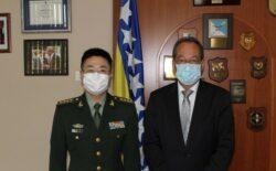 Ministar odbrane BiH primio vojne atašee Ruske Federacije i NR Kine