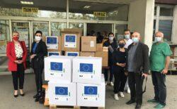 Počela isporuka 30 tona medicinske zaštitne opreme koju je donirala Evropska unija