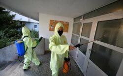 U Banjoj Luci od jutros masovna dezinfekcija stambenih zgrada