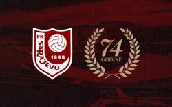 FK Sarajevo proslavio 74. rođendan