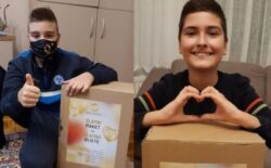 """Podijeljeni """"zlatni paketi"""" za 200 djece oboljele od raka"""