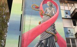 Mural 'Izlječenje' u Sarajevu kao podsjetnik na redovnu brigu o zdravlju
