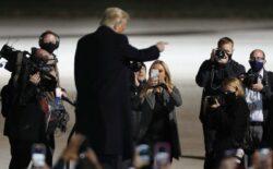 Trump bi se danas trebao prvi put pojaviti u javnosti nakon izbora