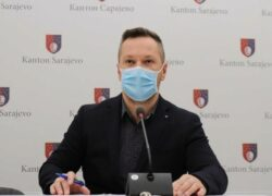 U Kantonu Sarajevo trenutno hospitalizirano 238 pacijenata