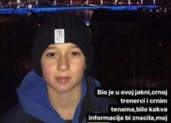 U Sarajevu nestao maloljetnik, policija moli građane za pomoć
