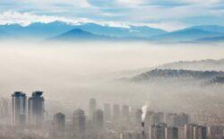 """Zbog zagađenja zraka u Sarajevu ponovno proglašena """"pripravnost"""""""